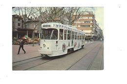 SAINT ETIENNE LE TRAMWAY  TRAM DE NOEL RUE GAMBETTA PLACE DU PEUPLE 30/03/1983 *****    A  SAISIR  ***** - Saint Etienne