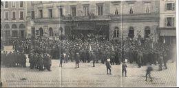 CHALON SUR SAONE Triple CP Funéraille Du Docteur Mauchamp En 1907 - Chalon Sur Saone