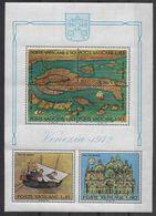 1972 VATICAN BF 3** Sauvez Venise - Blocks & Sheetlets & Panes