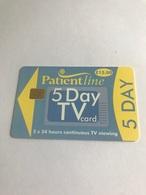 7:096  -  England PatientLine TV 5 Day - Royaume-Uni