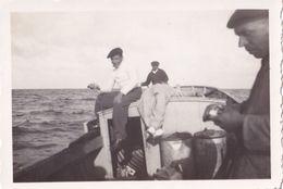 Balade En Mer Capbreton 1938 - Personnes Anonymes