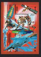 Olympische Spelen 1988 , Centraal Afrika - Blok Ongetand  Postfris - Summer 1988: Seoul