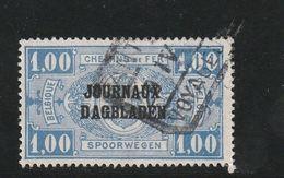 Belgique Oblitéré  1931  Timbre Pour Journaux  N° 37  Timbres Pour Colis Postaux Surchargés Sans Date - Newspaper