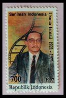 110. INDONESIA 1997 USED STAMP USMAR ISMAIL (FILM DIRECTOR) . - Indonesia
