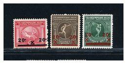 BELGIO - BELGIE BELGIQUE  - GIOCHI OLIMPICI ANVERSA 1920 -  Lusso - Summer 1920: Antwerp