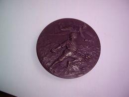 WW1 - 1914-1918 - Médaille De La Ville De Meudon Aux Combattants Meudonnais Souvenir De La Grande Guerre Signée Lebray - Professionnels / De Société