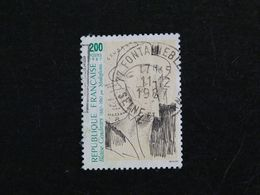 FRANCE YT 2497 OBLITERE - BLAISE CENDRARS - Usati