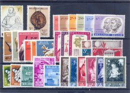 Volledige 1961 Postgaaf ** MNH Prachtig 44 Côte - Full Years