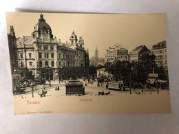GERMANY - SAXONY - DRESDEN - POSTPLATZ - 1905  -  POSTCARD - Dresden
