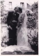 Belle Photo De Mariage Floue Artistique Jolie Halo Autours Du Couple - Personnes Anonymes