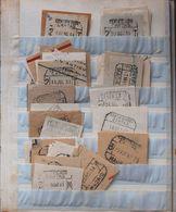 Sobre . (1850ca). Espectacular Conjunto De Cientos De Matasellos Utilizados En Madrid Entre 1854 Y 1950 Organizados Por  - Unclassified