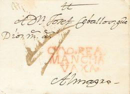 Sobre . 1799. CIUDAD REAL A ALMAGRO. Marca CYVD. REAL / MANCHA / VAXA. (P.E.3) Edición 2004. MAGNIFICA ESTAMPACION. - Unclassified