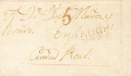 Sobre . 1819. LA SOLANA A CIUDAD REAL. Marca MANCHA / VAXA, De La Solana (P.E.2) Edición 2004. BONITA Y RARA. - Unclassified