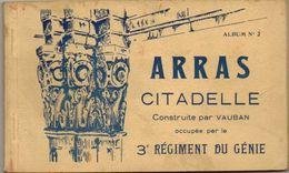 CARNET DE 10 CPA ARRAS CITADELLE VAUBAN REGIMENT DU GENIE - Arras