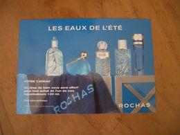 Carte Rochas Les Eaux De L'Eté Jeu - Cartes Parfumées