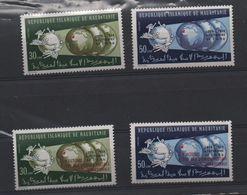 LOT 442 - MAURITANIE   N° 324/327 **  U.P.U   Cote  14.50 € - Mauritania (1960-...)