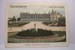 CACAO  VAN  HOUTEN   - CHATEAU  SAINT GERMAIN EN LAYE    - PUBLICITE  CHOCOLAT - Van Houten