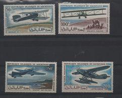LOT 442 - MAURITANIE P.A   N° 57/60 ** AVIONS -    Cote  11.25 € - Mauritania (1960-...)