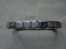 Bracelet En Acier Inoxydable Initiales MD - Bracelets