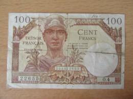 France - Billet 100 Francs Trésor Français 1947 - Alph. O.4 - Fayette VF.32.04 - Tesoro