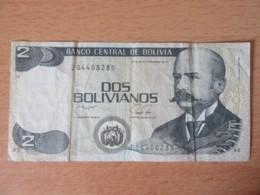 Bolivie / Bolivia - Billet 2 (Dos) Bolivianos 1986 - Bolivia