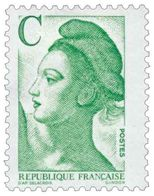 Type Liberté Yvert & Tellier N°2615 - France
