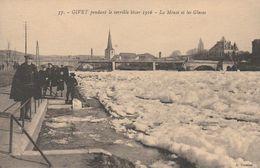 CPA:GIVET HIVER TERRIBLE EN 1916 LA MEUSE ET LES GLACES (08) - Givet