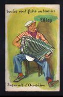89, Thizy, Carte A Systeme, Sans Les Photos ( Confectionnement Interrompu ), Sur Un Air D'accordeon - Altri Comuni