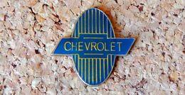 Pin's Chevrolet Logo Ovale - Verni époxy - Fabricant Inconnu - Autres