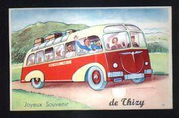 89, Thizy, Carte A Systeme, Sans Les Photos ( Confectionnement Interrompu ) - Altri Comuni