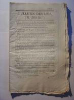BULLETIN DE LOIS N°369 Bis De 1830 - PENSIONS DE RETRAITES MILITAIRES ARMEE DETAIL - Décrets & Lois
