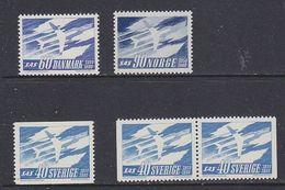SAS 1961 5v  ** Mnh (48723) - Idées Européennes