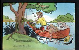 95, Beaumont, Carte A Systeme, Sans Les Photos ( Confectionnement Interrompu ) - Beaumont Sur Oise