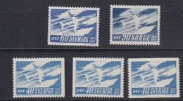 SAS 1961 5v  ** Mnh (48724) - Idées Européennes