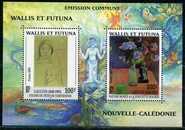 WALLIS ET FUTUNA - BLOC FEUILLET N° 13 * * - 100 ANS MORT DE GAUGUIN - LUXE - Blocks & Sheetlets
