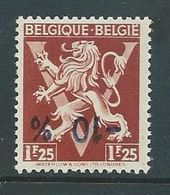 België Nr. 681 Met Kopstaande Opdruk - Oddities