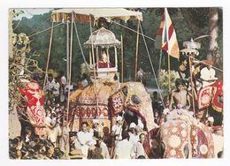 SRI LANKA Ceylon Kandy Perahera Procession Annuelle En 1979 Eléphants VOIR Timbres - Sri Lanka (Ceylon)