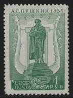 Russia / Sowjetunion 1937 - Mi-Nr. 554 A X ** - MNH - Gez. 12 1/2 - Puschkin (1) - Nuevos
