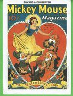 "Buvard "" Blanche Neige ""  Magazine Mickey Mouse - Kids"