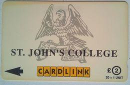 Cardlink ST. John's College - Royaume-Uni
