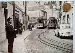 Lissabon, Rua Das Esc., Tram, Strassenbahn, Lissabon, 1975 - Lisboa
