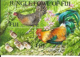 Jungle Fowl Of Fiji Birds Oiseaux Coq  2001 - Fidji (1970-...)