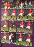 Norway 2002 Norge Football, Cards With Players And Situations Norwegian Team   32 Cards - Football
