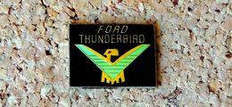 Pin's Ford Thunderbird Logo - Verni époxy - Fabricant Inconnu - Ford
