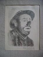 BELGIUM Christian Desire Dely (1931-1986) Original Lithography - Litografia