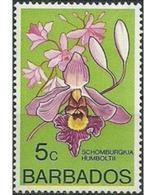 Ref. 628950 * MNH * - BARBADOS. 1975. ORCHIDS (WITH FILIGREE) . ORQUIDEAS (CON FILIGRANA) - Non Classificati