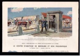 Article Coupure De Presse 4 Pages Année 1943 (79) Bressuire Centre D'abattage Illustrations Géo Ham - Alte Papiere
