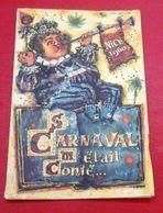 Programme Carnaval De Nice 1960 Illustrée Par Théo Tobiasse Tous Les Groupes Et Chars Batailles De Fleurs - Programme