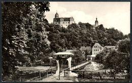 B5041 - Rochsburg Schloß Bei Lunzenau Hängebrücke Brücke - Verlag Landgraf - Castillos