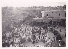 Jemaa El-Fnaa Marrakech ساحة جامع الفناء - Personnes Anonymes